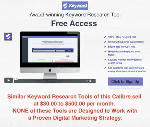 Award-Winning 100% FREE Keyword Research Tool