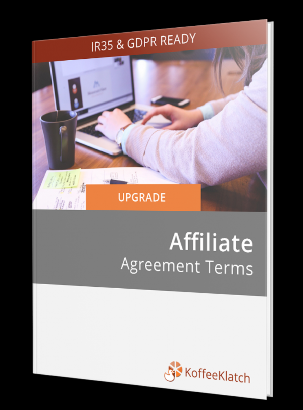 Affiliate Agreement Terms