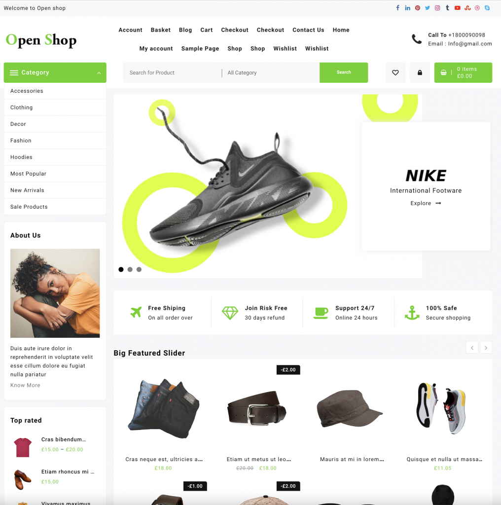 Cost effective Ecommerce Site 3